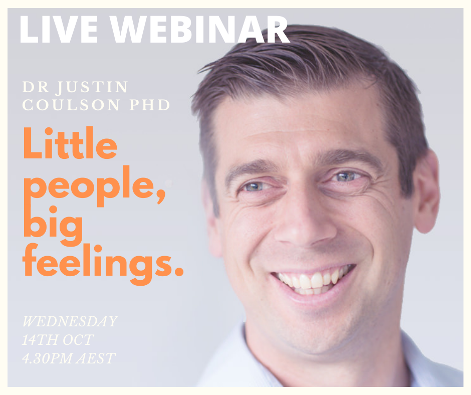 DR JUSTIN COULSON ONLINE LIVE EVENT